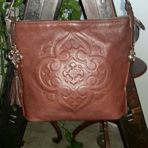 Brighton Collectibles Leather Bag 9.5 x 11 x 4